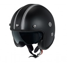 Casca open face carbon CMS Vintage SV Legend Black