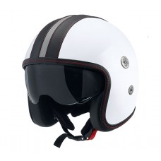 Casca open face carbon CMS Vintage SV White Black