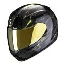 Casca moto integrala Scorpion Exo 390 Beat Negru/Galben Fluo