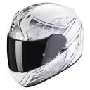 Casca moto integrala Scorpion Exo 390 Clara Alb