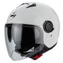 Casca moto open face Scorpion Exo-City alb