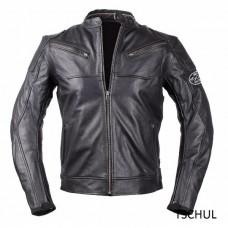 Geaca moto piele Tschul Vintage black