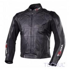 Geaca moto piele Tschul Roven all black