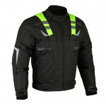 Moto textile jacket SM-07 Green Flash