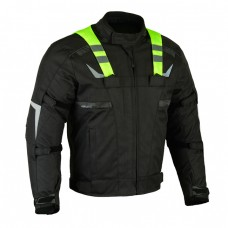 Geaca moto textil SM-07 Green Flash