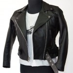 Motorcycle leather jacket MLJW-02