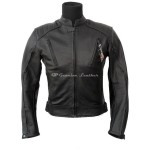 Motorcycle leather jacket MLJM-03